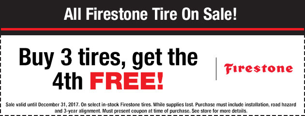Firestone Tire Special