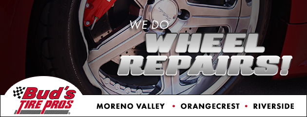 We do wheel repairs!