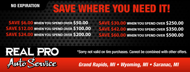 Save where you need it! Spend More to Save More Coupon