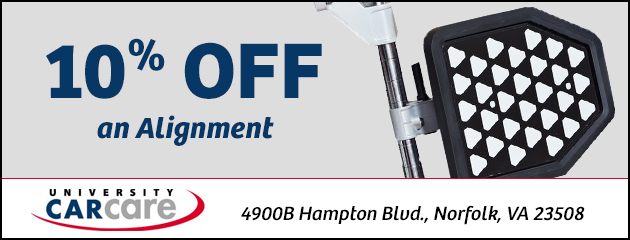 10% off an Alignment