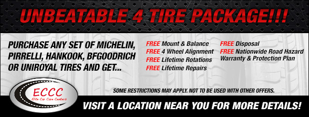 Unbeatable 4 Tire Package!