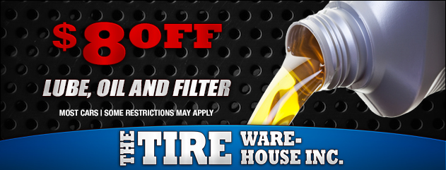 $8 Off Lube Oil Filter Special