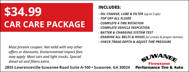 $34.99 Car Care Package