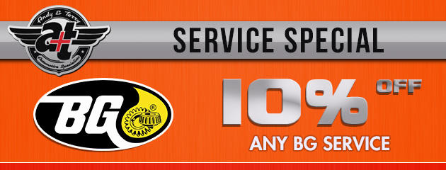 10% off any BG service