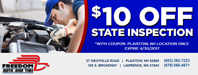 $10 off State Inspection Special