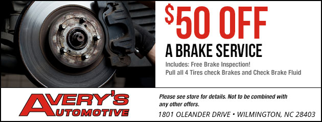 Brake Special! $50.00 Off
