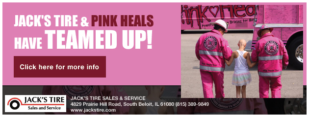 Teamed up with Pink Heals!