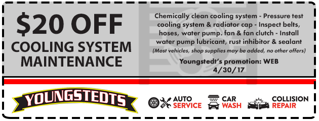 $20 Off Cooling System Maintenance
