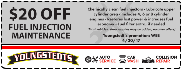 $20 Off Fuel Injection Maintenance