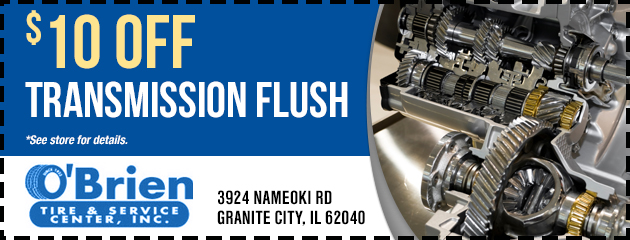 $10 Off Transmission Flush Special