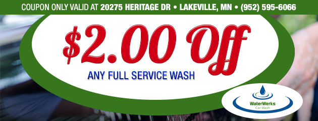 $2 Off Any Full Service Wash - Lakeville