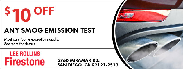$10 Off Any Smog Emission Test Coupon
