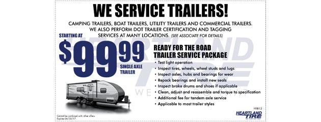 We Service Trailers