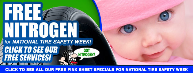 National Tire Safety Week Specials