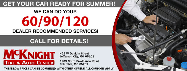 Get your car ready for summer!