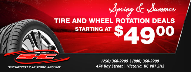 Spring & Summer Tire and Wheels Rotation Deals Starting at $49.00
