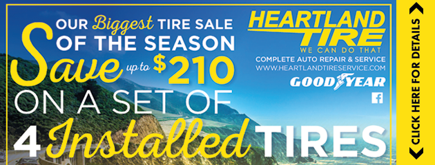 Save up to $210 at our Biggest Tire Sale of the Season!