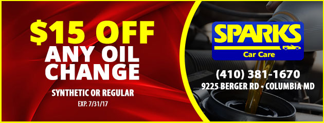 $15 Off Any Oil Change Special