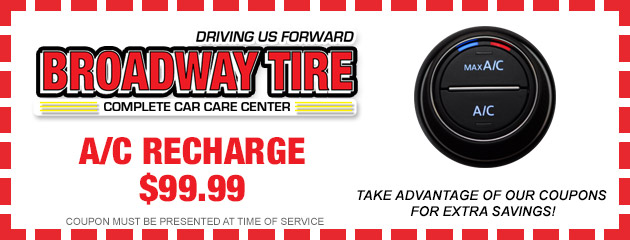 A/C Recharge $99.99