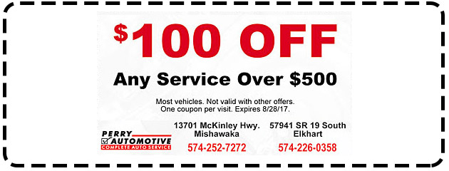 $100 OFF Any Service Over $500