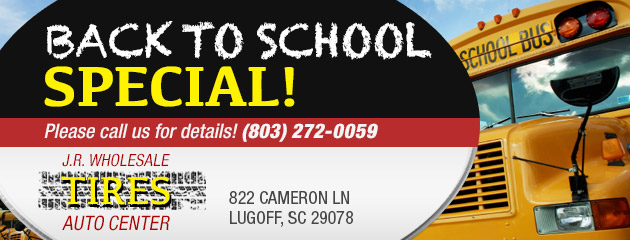Back to School Special! Call for details!