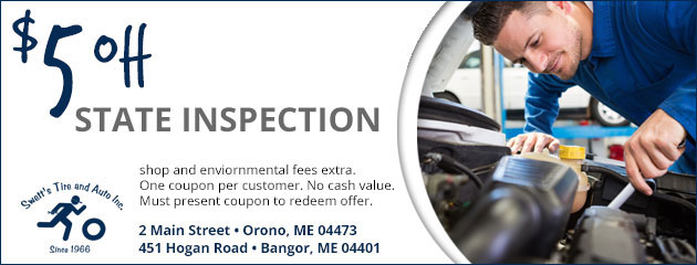 $5 Off State Inspection