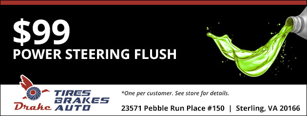 $99.00 - Power Steering Flush