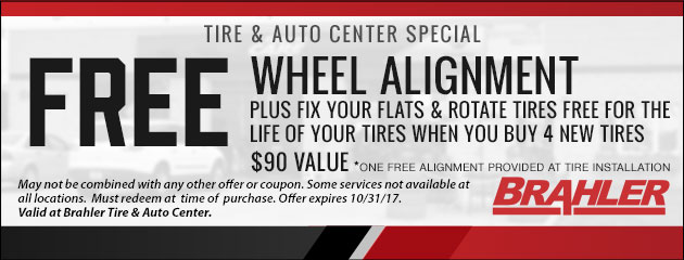 Free Wheel Alignment Special