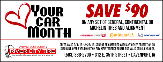 Love Your Car Month Tire Special