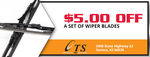 $5 Off a Set of Wiper Blades