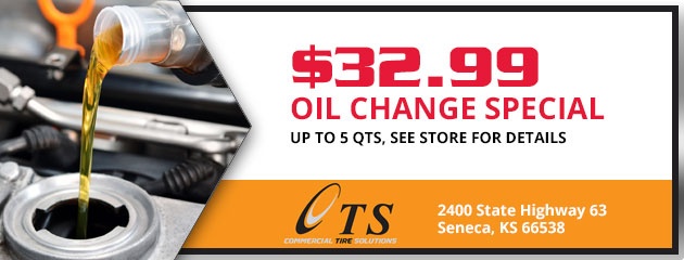 Oil Change Special $32.99