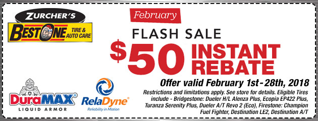 February Flash Sale!