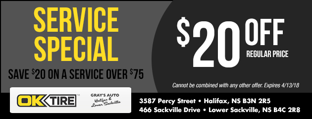 $20 Off Any Service Over $75