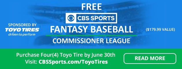 2018 Toyo Tires Fantasy Commissioner New League Offer