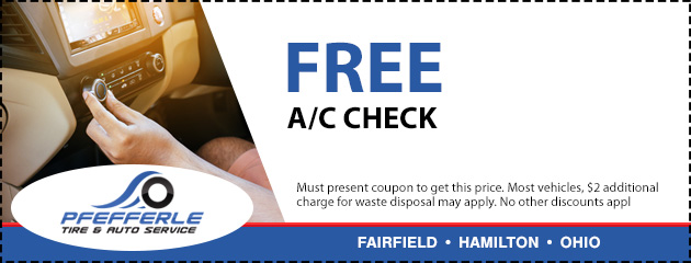 Pfefferle Tire & Auto Service | Fairfield OH & Hamilton OH | Tires & Auto Repair