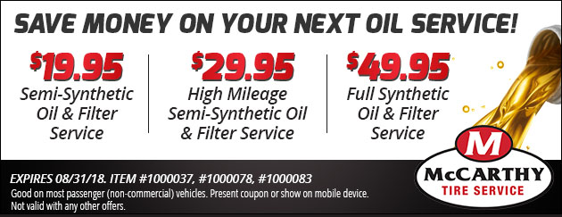 Lube, Oil & Filter Coupon