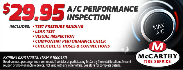 $29.95 Air Conditioning Performance Check