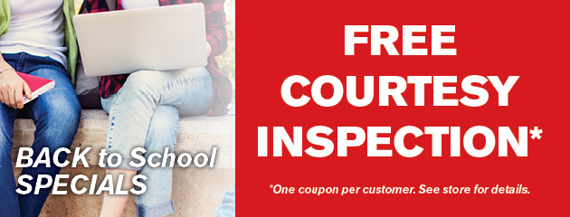 Free Courtesy Inspection