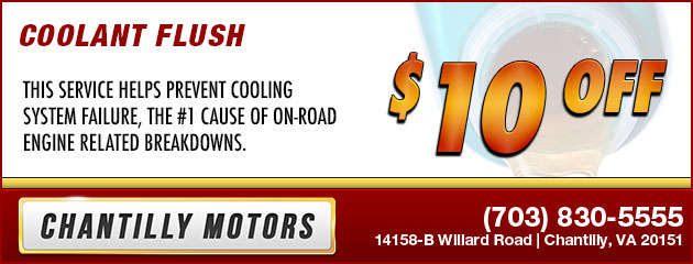 $10 Off Coolant Flush