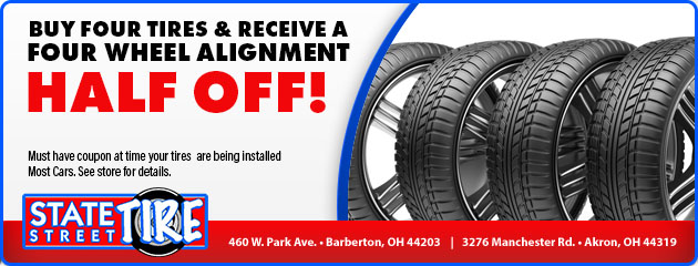 Used Tires Akron Ohio >> Auto Repairs Tires Akron Oh Barberton Oh State Street Tire