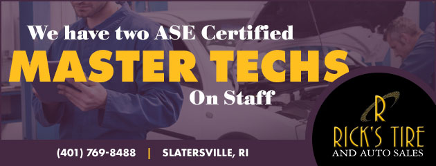 ASE Master Techs on Staff