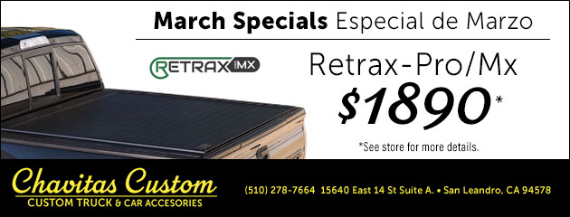 March Special on Retrax Pro Mx