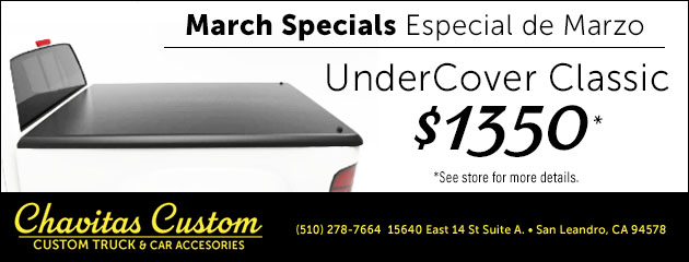 March Special on UnderCover Classic