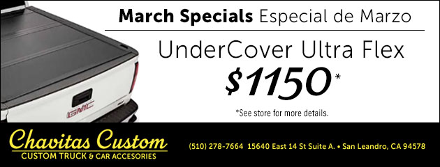 March Special on UnderCover Ultra Flex