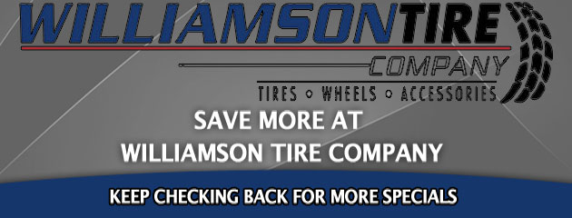 Williamson Tire Co_Coupons Specials