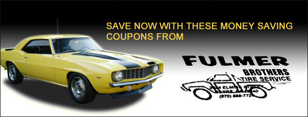 Fulmer Brothers - Default Coupon