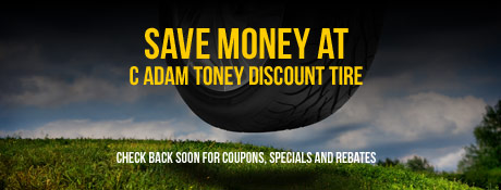 C Adam Toney Discount Tires Savings