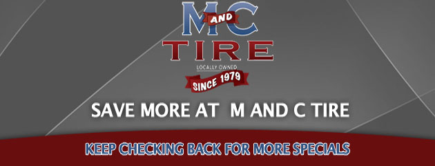 M&C Tire_Coupons Specials