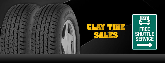 Clay Tire Sales