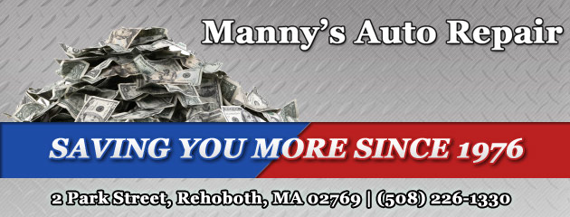 Mannys Auto Repair Savings